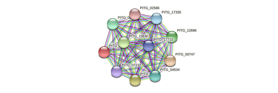 PITG_00090 protein (Phytophthora infestans) - STRING interaction network