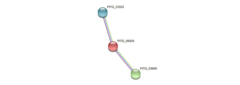 PITG_06926 protein (Phytophthora infestans) - STRING interaction network