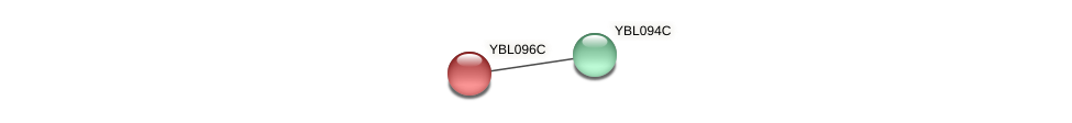 YBL096C protein (Saccharomyces cerevisiae) - STRING interaction network