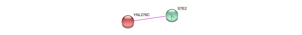 YNL276C protein (Saccharomyces cerevisiae) - STRING interaction network