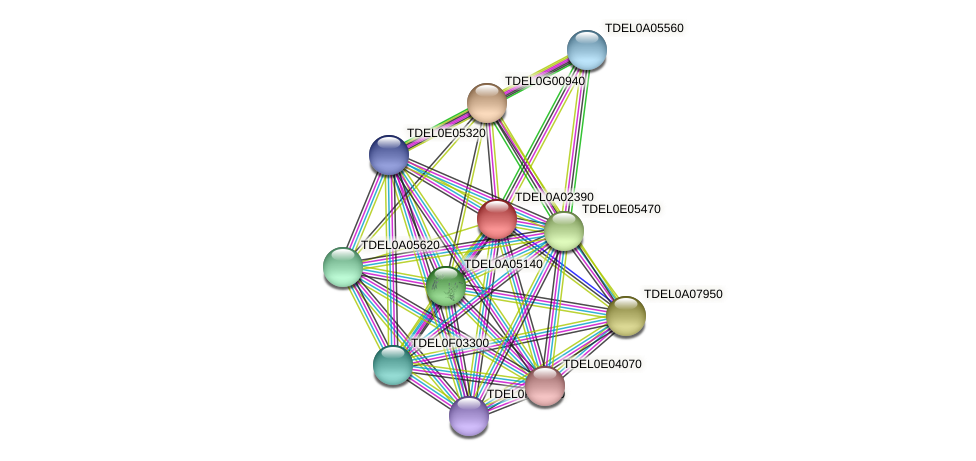 XP_003678782.1 protein (Torulaspora delbrueckii) - STRING interaction network
