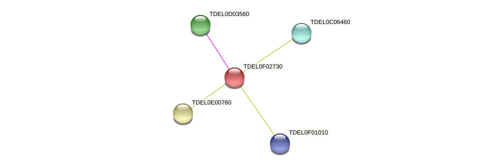 XP_003682295.1 protein (Torulaspora delbrueckii) - STRING interaction network