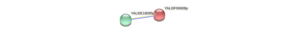XP_505101.1 protein (Yarrowia lipolytica) - STRING interaction network