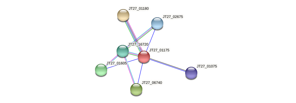 JT27_01175 protein (Alcaligenes faecalis) - STRING interaction network