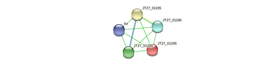 JT27_01205 protein (Alcaligenes faecalis) - STRING interaction network