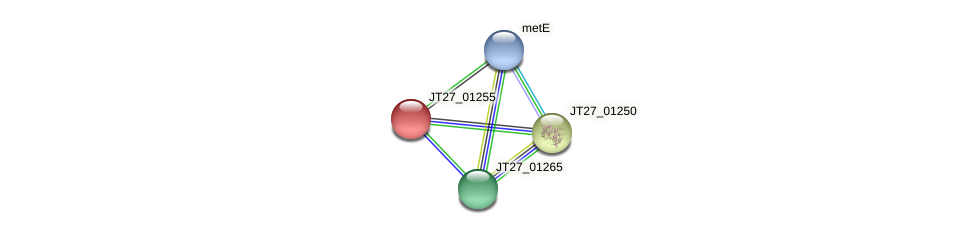 JT27_01255 protein (Alcaligenes faecalis) - STRING interaction network