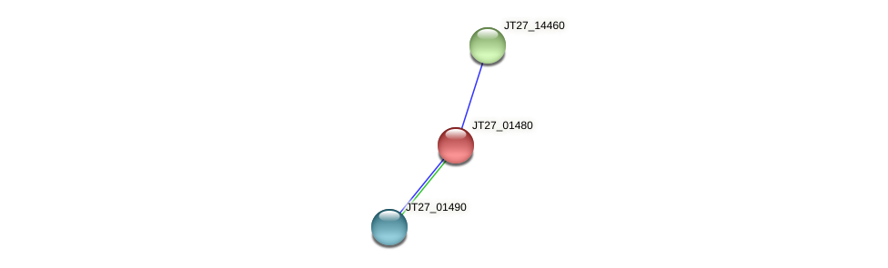 JT27_01480 protein (Alcaligenes faecalis) - STRING interaction network