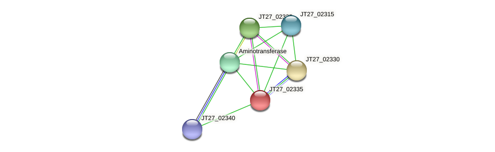 JT27_02335 protein (Alcaligenes faecalis) - STRING interaction network