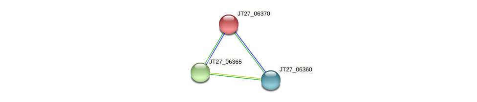 JT27_06370 protein (Alcaligenes faecalis) - STRING interaction network