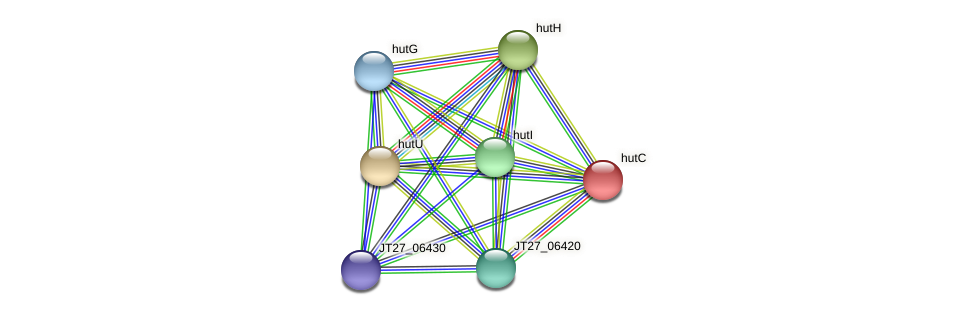 JT27_06395 protein (Alcaligenes faecalis) - STRING interaction network