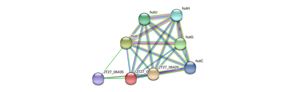 JT27_06430 protein (Alcaligenes faecalis) - STRING interaction network