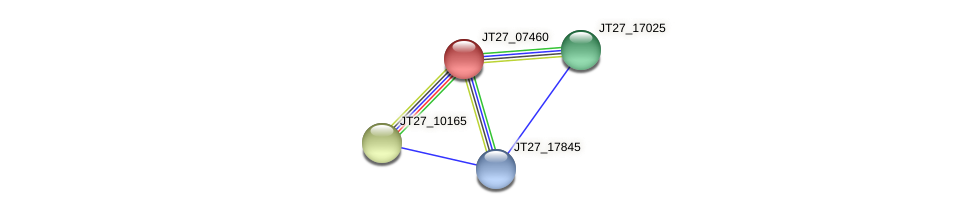 JT27_07460 protein (Alcaligenes faecalis) - STRING interaction network