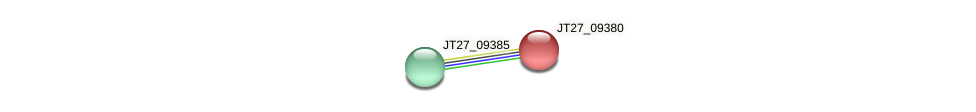 JT27_09380 protein (Alcaligenes faecalis) - STRING interaction network