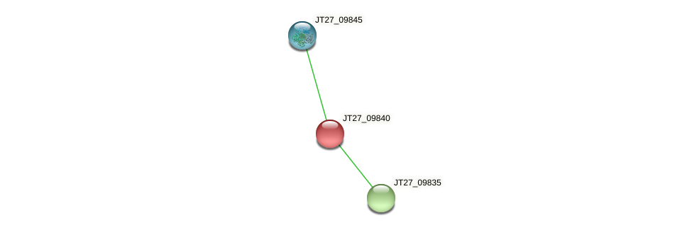 JT27_09840 protein (Alcaligenes faecalis) - STRING interaction network