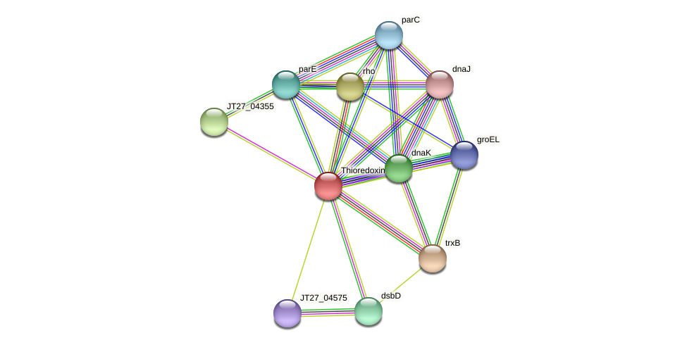 JT27_15085 protein (Alcaligenes faecalis) - STRING interaction network