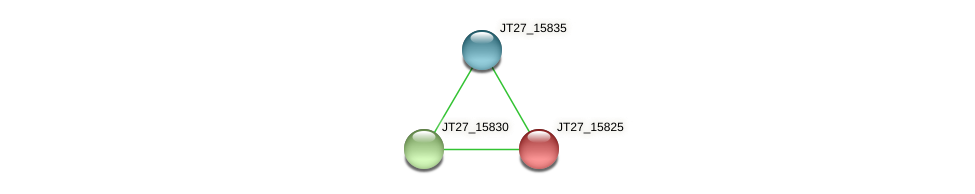 JT27_15825 protein (Alcaligenes faecalis) - STRING interaction network