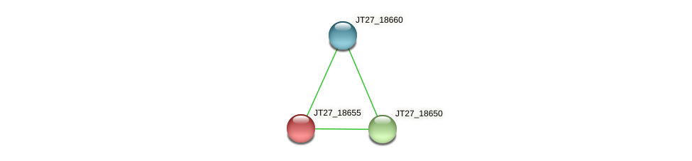 JT27_18655 protein (Alcaligenes faecalis) - STRING interaction network