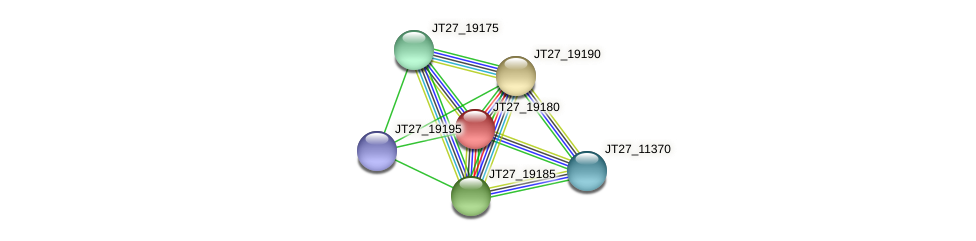 JT27_19180 protein (Alcaligenes faecalis) - STRING interaction network