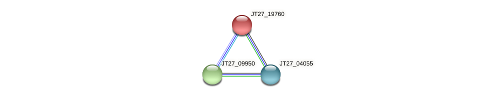 JT27_19760 protein (Alcaligenes faecalis) - STRING interaction network