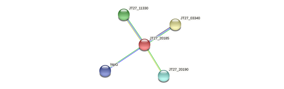 JT27_20185 protein (Alcaligenes faecalis) - STRING interaction network