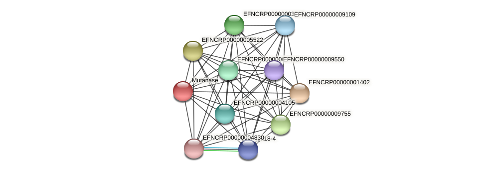 EFNCRP00000001531 protein (Neurospora crassa) - STRING interaction network
