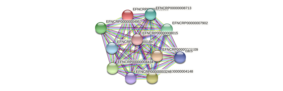 EFNCRP00000002888 protein (Neurospora crassa) - STRING interaction network
