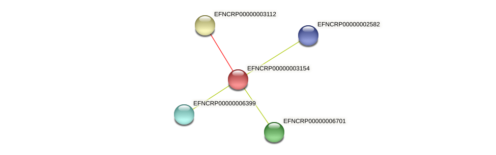 EFNCRP00000003154 protein (Neurospora crassa) - STRING interaction network