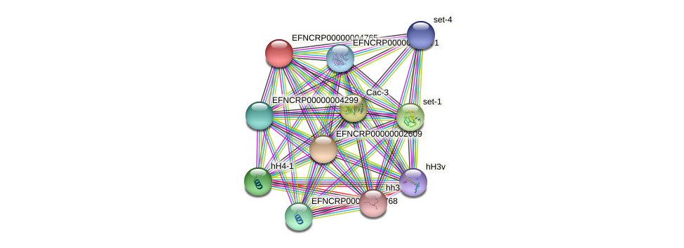 EFNCRP00000004765 protein (Neurospora crassa) - STRING interaction network