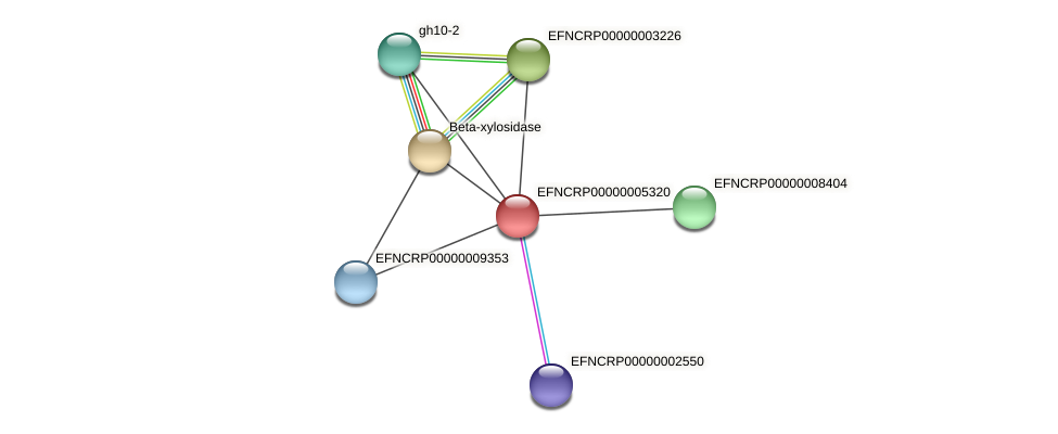 EFNCRP00000005320 protein (Neurospora crassa) - STRING interaction network