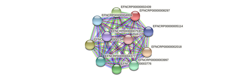 B2N18.190 protein (Neurospora crassa) - STRING interaction network
