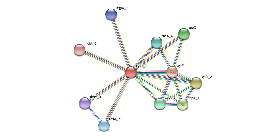 BW31_01326 protein (Pantoea agglomerans) - STRING interaction network