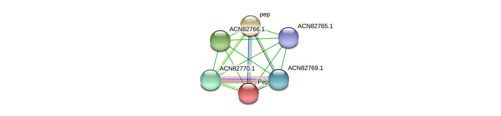 ACN82768.1 protein (Brachyspira hyodysenteriae) - STRING interaction network