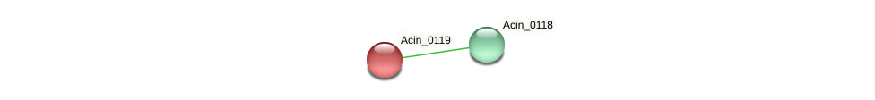 Acin_0119 protein (Acidaminococcus intestini) - STRING interaction network