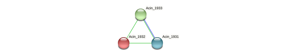 Acin_1932 protein (Acidaminococcus intestini) - STRING interaction network