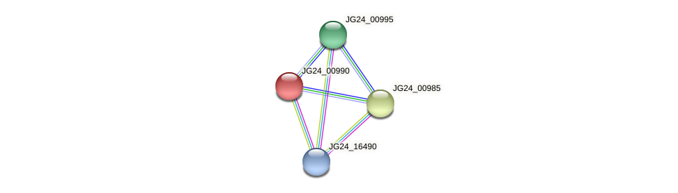 JG24_00990 protein (Klebsiella pneumoniae) - STRING interaction network