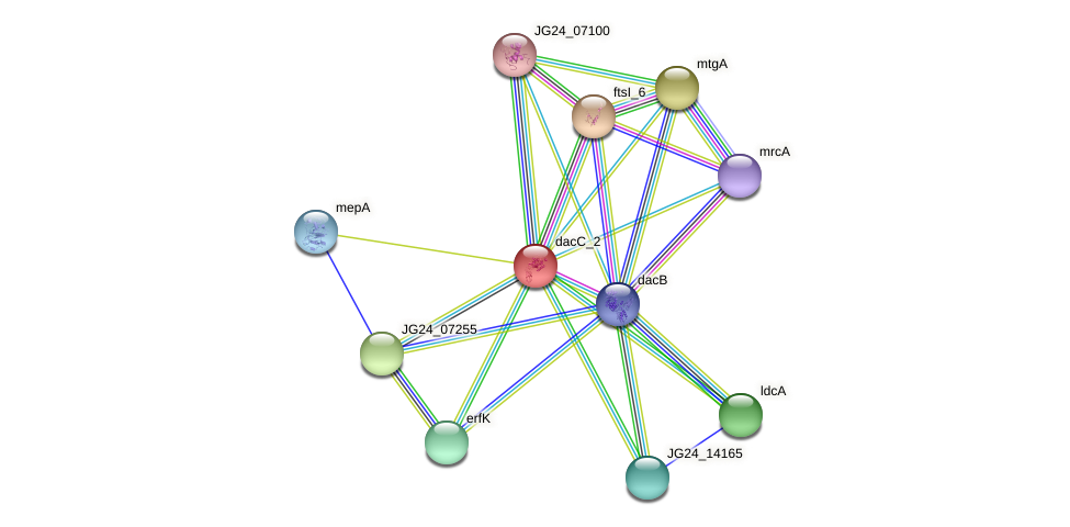 JG24_06830 protein (Klebsiella pneumoniae) - STRING interaction network