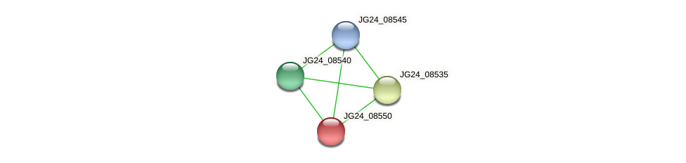 JG24_08550 protein (Klebsiella pneumoniae) - STRING interaction network