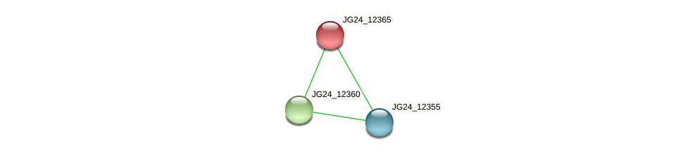 JG24_12365 protein (Klebsiella pneumoniae) - STRING interaction network