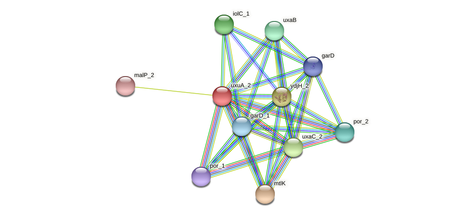JG24_17390 protein (Klebsiella pneumoniae) - STRING interaction network