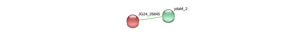 JG24_26845 protein (Klebsiella pneumoniae) - STRING interaction network