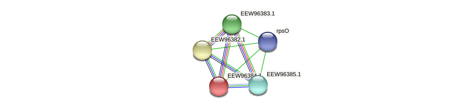 GCWU000321_00323 protein (Dialister invisus) - STRING interaction network