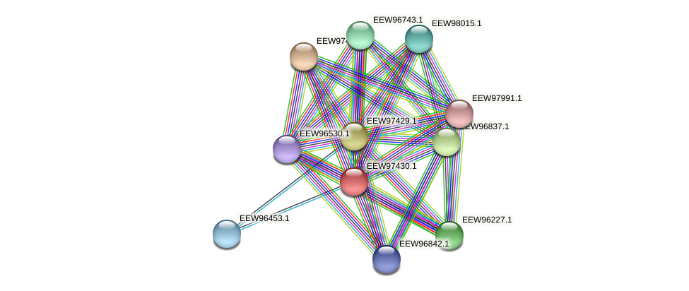 GCWU000321_01423 protein (Dialister invisus) - STRING interaction network