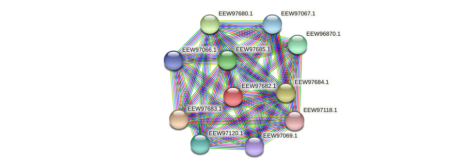 GCWU000321_01678 protein (Dialister invisus) - STRING interaction network