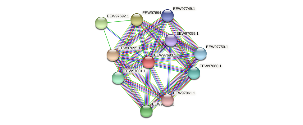 GCWU000321_01689 protein (Dialister invisus) - STRING interaction network