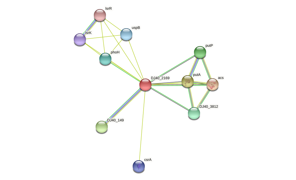 cstA_2 protein (Yersinia pseudotuberculosis) - STRING interaction network