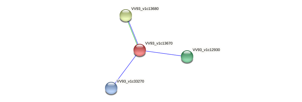 VV1457 protein (Vibrio vulnificus) - STRING interaction network