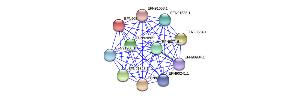HMPREF9018_1349 protein (Prevotella amnii) - STRING interaction network