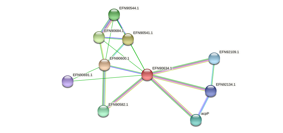 HMPREF9018_1352 protein (Prevotella amnii) - STRING interaction network