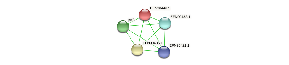 HMPREF9018_1829 protein (Prevotella amnii) - STRING interaction network