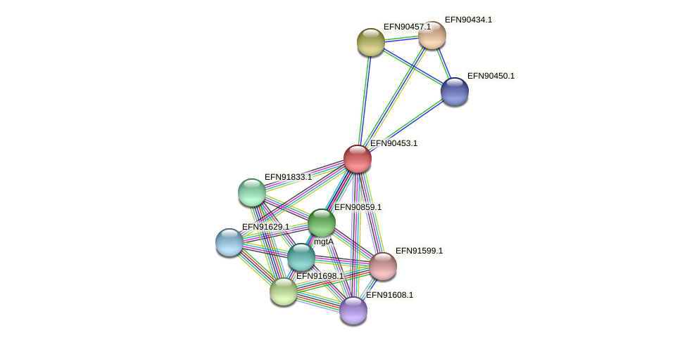 HMPREF9018_1837 protein (Prevotella amnii) - STRING interaction network